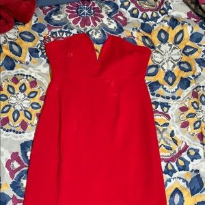 Red Mermaid Top Dress